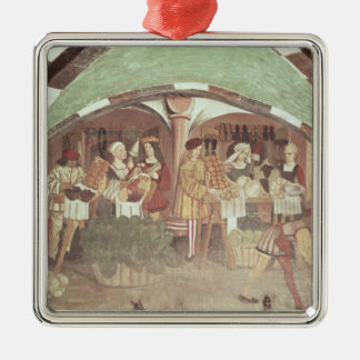 Fruit and Vegetable Market Christmas Ornament