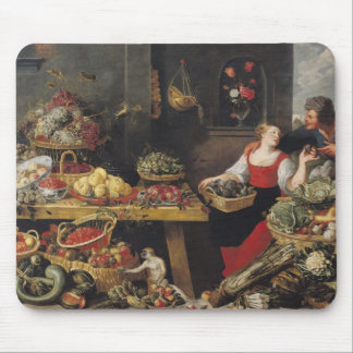 Fruit and Vegetable Market Mouse Mat