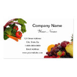 Fruit and Vegetables 2 Business Cards