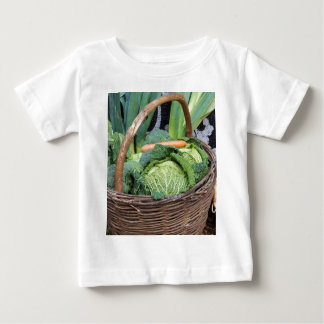 fruit and vegetables in the basket baby T-Shirt