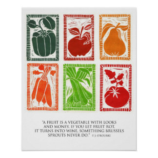 Fruit and Veggie poster