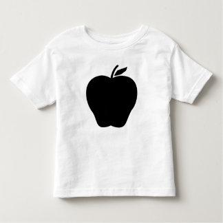 fruit Apple leaf black kids Toddler T-Shirt