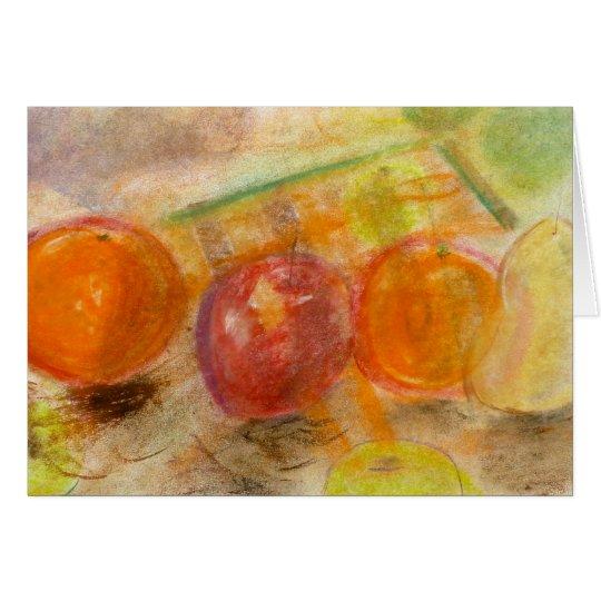 Fruit Arrangement No. 1 pastel note card