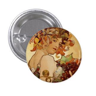 Fruit - Autumn 1897 3 Cm Round Badge