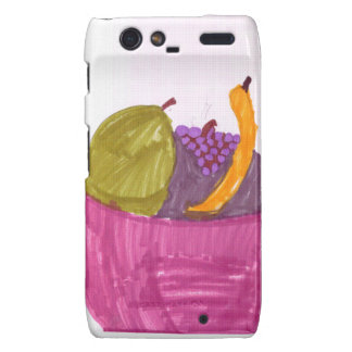 Fruit Basket Motorola Droid RAZR Covers