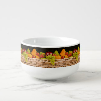 Fruit Basket Jumbo Bowl Soup Mug