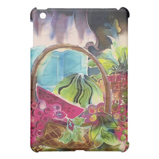 Fruit Basket Silk Art Painting iPad Mini Covers