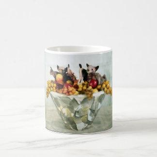 Fruit Bats cup Classic White Coffee Mug