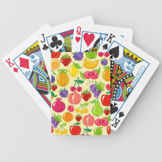 Fruit Bicycle Playing Cards