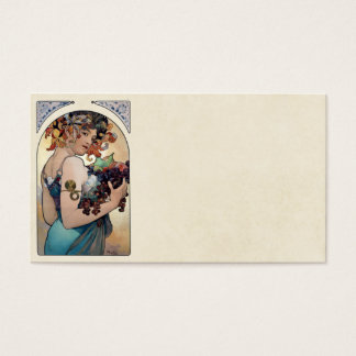 Fruit by Alfons Mucha 1897