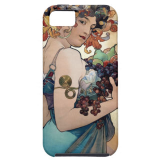 Fruit by Alfons Mucha 1897 iPhone 5 Covers