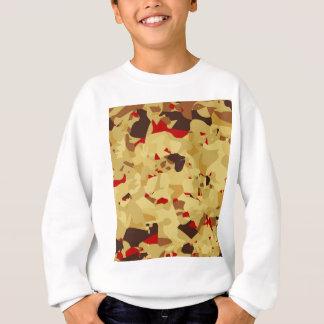 Fruit Cake Background Sweatshirt
