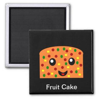 Fruit cake magnet