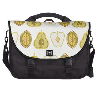 Fruit Design Apples Pears Avocados Kitchen Gifts Computer Bag