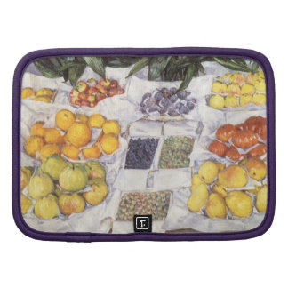 Fruit Displayed on a Stand by Gustave Caillebotte Organizer