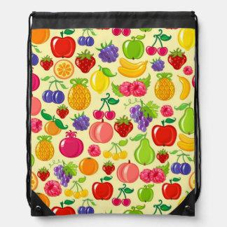 Fruit Drawstring Bag