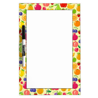 Fruit Dry Erase Board