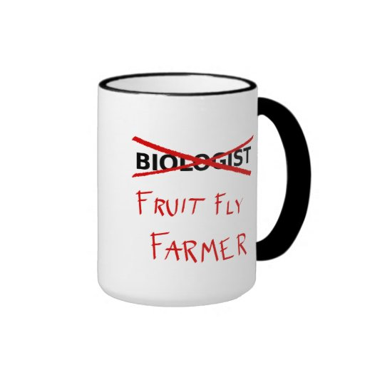 Fruit Fly Farmer Mug