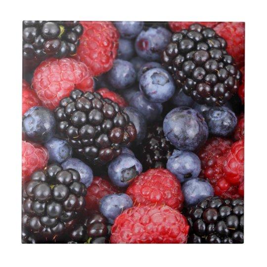 Fruit-- Fresh berries--Tile/Trivet Tile