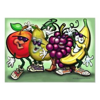 Fruit Gang Invitation