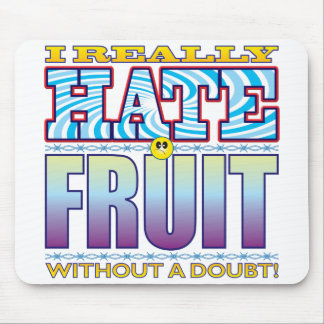 Fruit Hate Face Mouse Pad
