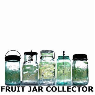 Fruit Jar Collector Mason Jars Desk Display Shelf Standing Photo Sculpture