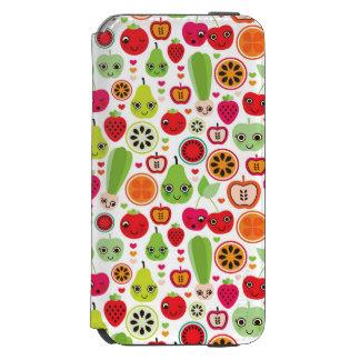 fruit kids illustration apple incipio watson™ iPhone 6 wallet case