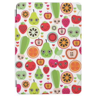 fruit kids illustration apple iPad air cover