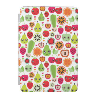 fruit kids illustration apple iPad mini cover