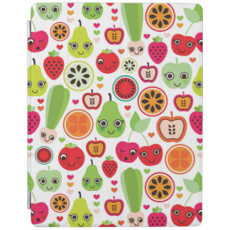 fruit kids illustration apple iPad smart cover