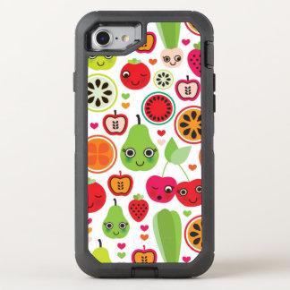 fruit kids illustration apple OtterBox defender iPhone 8/7 case