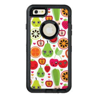 fruit kids illustration apple OtterBox defender iPhone case