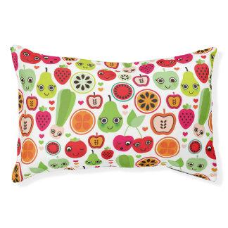 fruit kids illustration apple pet bed