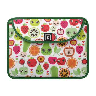 fruit kids illustration apple sleeve for MacBooks