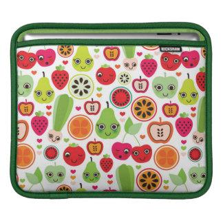 fruit kids illustration apple sleeves for iPads