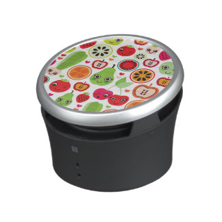fruit kids illustration apple speaker