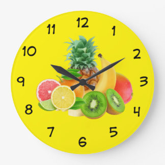 Fruit Kitchen Clock
