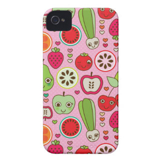 fruit kitchen illustration pattern iPhone 4 case
