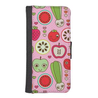 fruit kitchen illustration pattern iPhone SE/5/5s wallet case