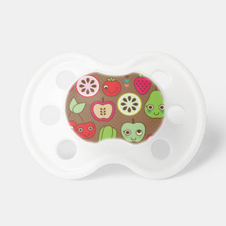 Fruit Kitchen Pattern Baby Pacifiers