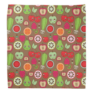 Fruit Kitchen Pattern Bandana