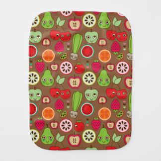 Fruit Kitchen Pattern Burp Cloth