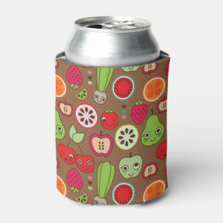 Fruit Kitchen Pattern Can Cooler