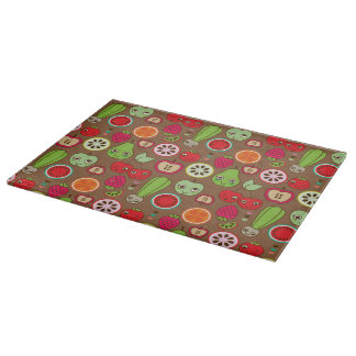 Fruit Kitchen Pattern Cutting Board