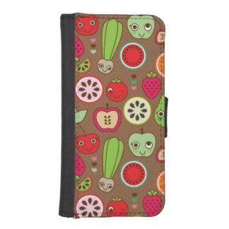Fruit Kitchen Pattern iPhone SE/5/5s Wallet Case
