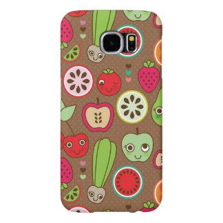 Fruit Kitchen Pattern Samsung Galaxy S6 Cases