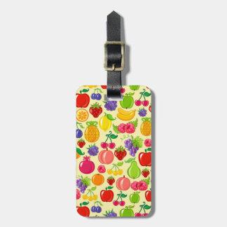 Fruit Luggage Tag