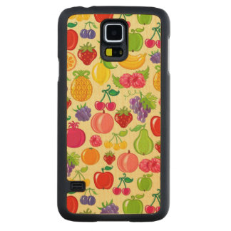 Fruit Maple Galaxy S5 Slim Case