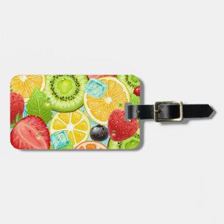 Fruit Mix Luggage Tag