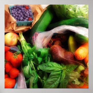 Fruit n Veg Poster